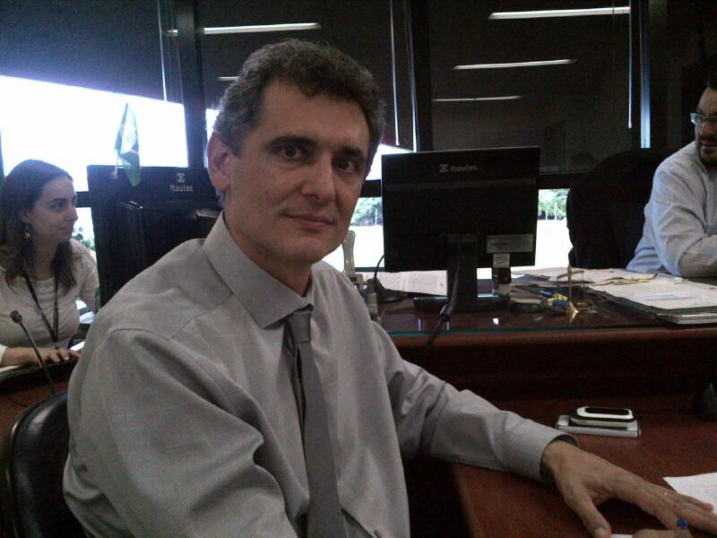 Paulo Castilho, 47, foi jogador profissional e combate a violência há nove anos Crédito - Blog do Boleiro